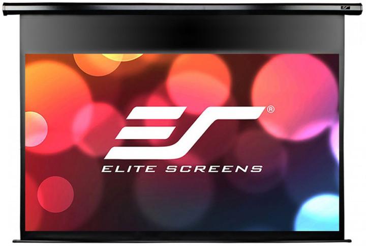 """Elite Screens plátno elektrické motorové 84"""" (213,4 cm)/ 16:9/ 104,6 x 185,9 cm/ Gain 1,1"""