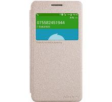 Nillkin Sparkle S-View pouzdro pro Samsung G530 Galaxy Grand Prime, zlatá - 22437