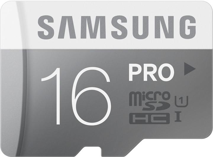 Samsung Micro SDHC PRO 16GB