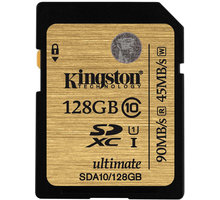 Kingston SDXC Ultimate 128GB Class 10 UHS-I - SDA10/128GB