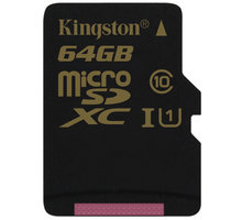 Kingston Micro SDXC 64GB Class 10 UHS-I - SDCA10/64GBSP