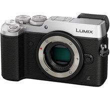 Panasonic Lumix DMC-GX8 - tělo, stříbrná - DMC-GX8EG-S