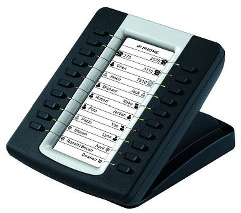 YEALINK IP rozšiřující modul 39PK, LCD displej, 20 tlačítek