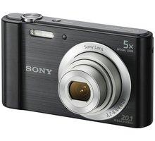 Sony Cybershot DSC-W800, černá - DSCW800B.CE3