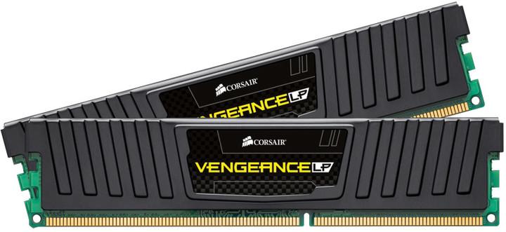 Corsair Vengeance Low Profile Black 16GB (2x8GB) DDR3 1866