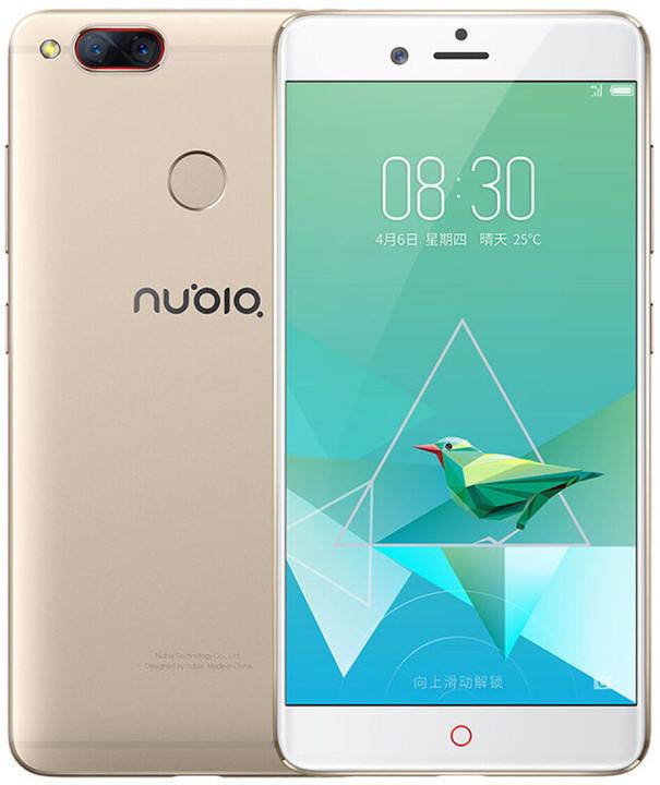 Nubia Z17 mini - 64GB, zlatá