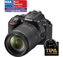 Nikon D5500 + 18-140 AF-S DX VR - VBA440K005 + Nikon CF-EU10 systémová brašna v ceně 690 Kč