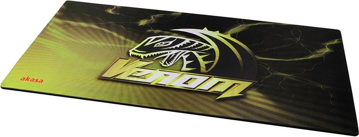 Akasa Venom TXL, látková, žlutá