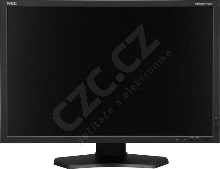 "NEC MultiSync P241W, černý - LCD monitor 24"""