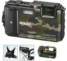 Nikon Coolpix AW130, Outdoor Kit, camouflage - VNA843K001