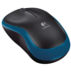Logitech Wireless Mouse M185, modrá