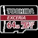 Toshiba Micro SDXC Exceria M302 64GB 90MB/s UHS-I U3 + adaptér