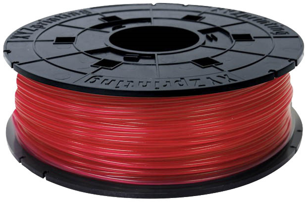 XYZprinting Filament PLA (NFC) Clear Red 600g (Junior)