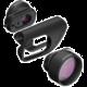 Olloclip active lens, black/black - i7/i7+