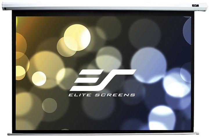 """Elite Screens plátno elektrické motorové 150"""" (381 cm)/ 4:3/ 228,6 x 304,8 cm/ case bílý"""