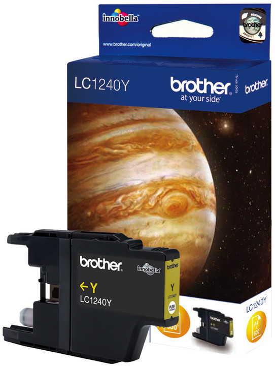 Brother LC-1240Y, yellow
