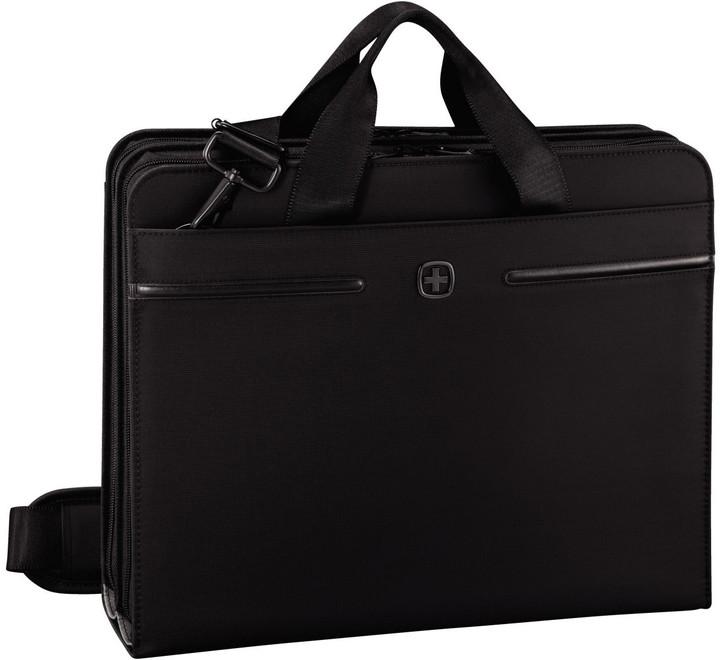 WENGER DIRECTIVE - business organizátor s pouzdrem na notebook a tablet, černý