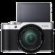 Fujifilm X-A10 + XC 16-50mm, stříbrná/černá