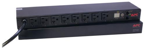APC rack PDU, přepínatelné, 1U, 20A, 120V, (8)5-20