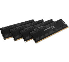 Kingston HyperX Predator 32GB (4x8GB) DDR3 2400 CL 11 - HX324C11PB3K4/32