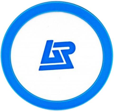 Apei Qi P1 Wireless Charging Pad, bílá/modrá