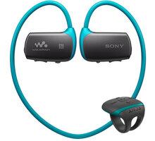 Sony NWZ-WS613, 4GB, modrá - NWZWS613L.CEW