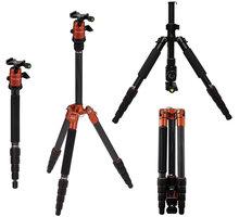 Rollei Compact Traveler No 1 Carbon/ Zátěž 8kg/ Vytažený 142 cm/ Karbon/ Oranžový - 22579