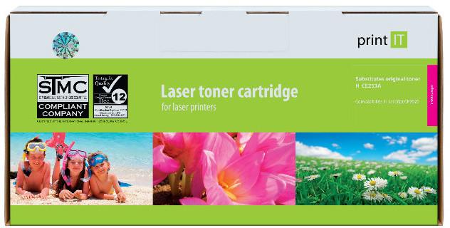 PRINT IT alternativní HP CE253A Color LaserJet CP3525 magenta
