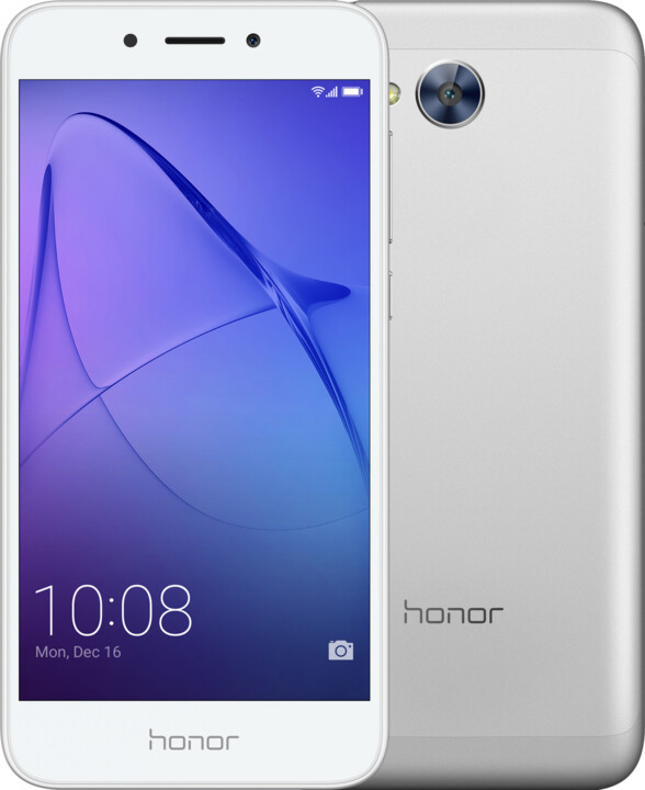 Honor 6A, stříbrná