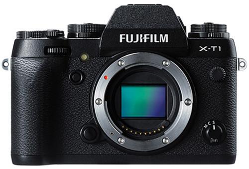 Fujifilm X-T1, tělo, černá