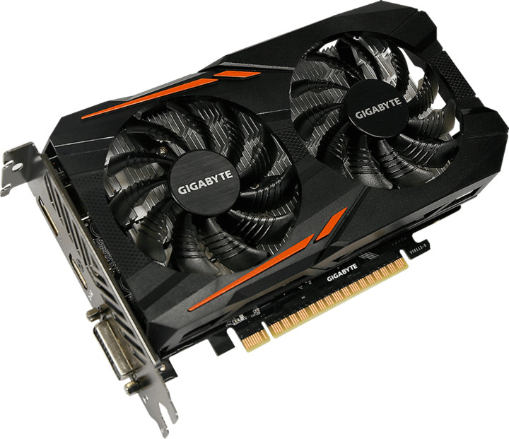 GIGABYTE GeForce GTX 1050 Ti OC 4G, 4GB GDDR5