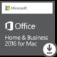 Microsoft Office Mac 2016 pro domácnosti a podnikatele - elektronicky