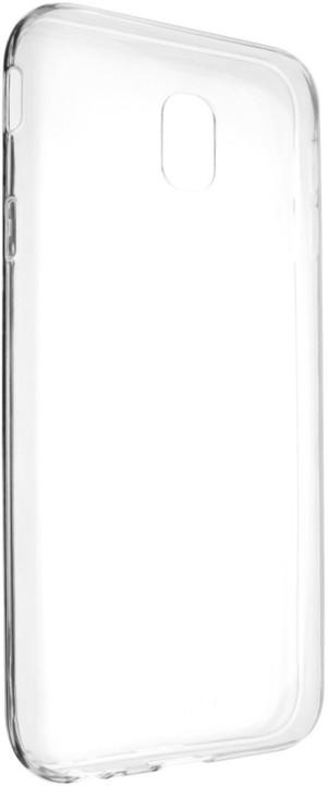 FIXED Skin ultratenké TPU gelové pouzdro pro Samsung Galaxy J3 (2017), 0,5 mm, čiré