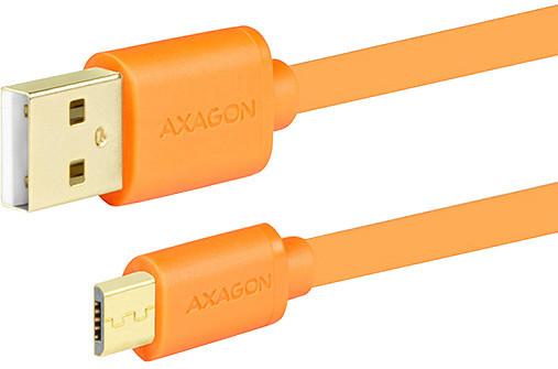 AXAGON BUMM-AM05QO, 0.5 m, oranžový