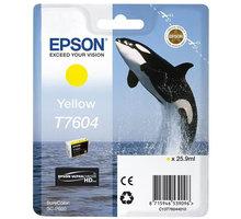 Epson T7604, (25,9ml), yellow - C13T76044010