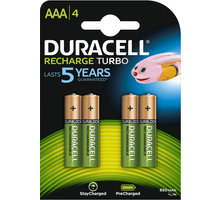 Duracell StayCharged AAA - 850 mAh, 4ks - 10PP050020