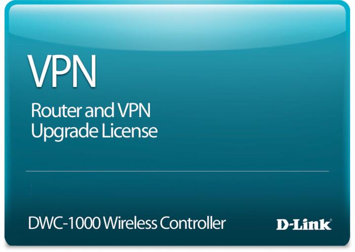 D-Link DWC-1000-VPN-LIC rozšiřuící licence