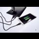 Solight LED lampička, stmívatelná, 12W, USB, černá