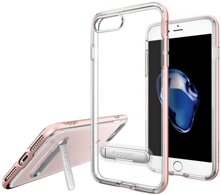 Spigen Crystal Hybrid pro iPhone 7+, rose gold