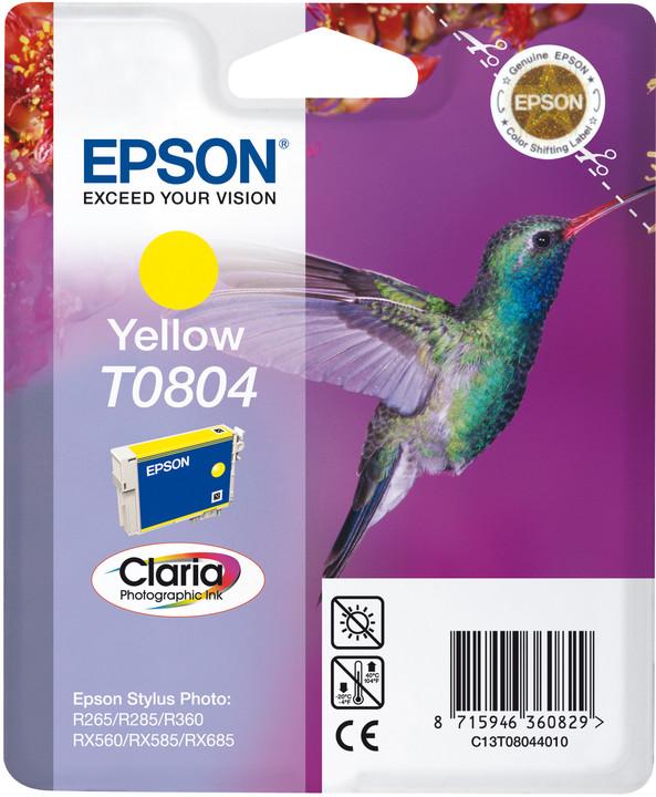 Epson C13T080440, žlutá