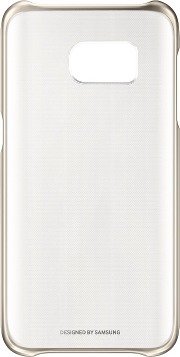Samsung EF-QG930CF Clear Cover Galaxy S7, Gold