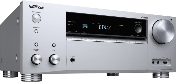 Onkyo TX-RZ710, stříbrná
