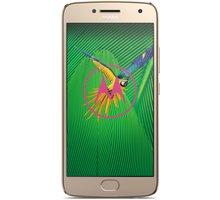 Lenovo Moto G5 Plus - 32GB, LTE, zlatá - SM4470AJ1N7