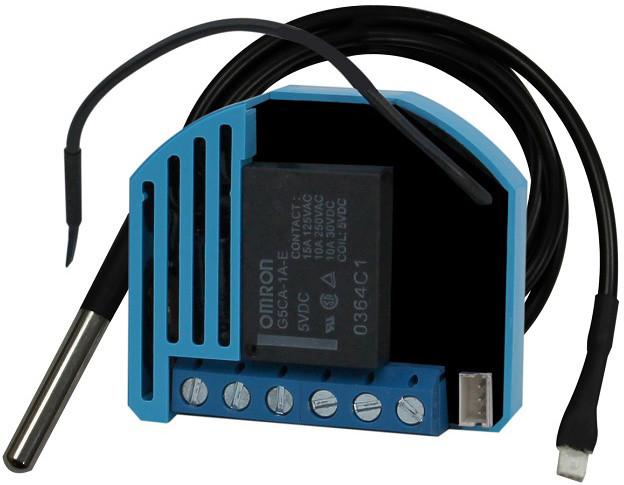 QUBINO termostat vytápění / chlazení, zabudovatelný, Z-Wave plus atd.