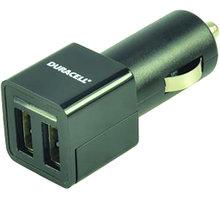Duracell nabíječka 2x2,4A In-Car USB - DR5010A