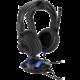 Sharkoon X-Rest 7.1 držák sluchátek s externí zvukovou kartou