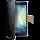 CELLY Wally pouzdro pro Samsung Galaxy A3, PU kůže, černá