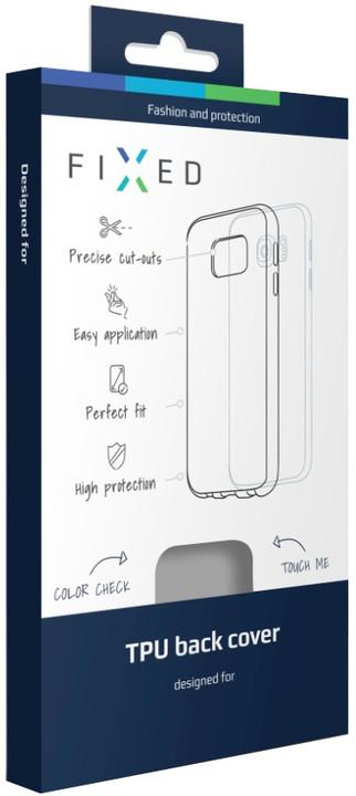 FIXED gelové pouzdro pro Apple iPhone 7, kouřová