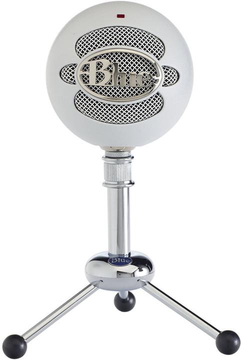 Blue Microphones Snowball, bílý
