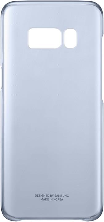 Samsung S8+, Poloprůhledný zadní kryt, modrá